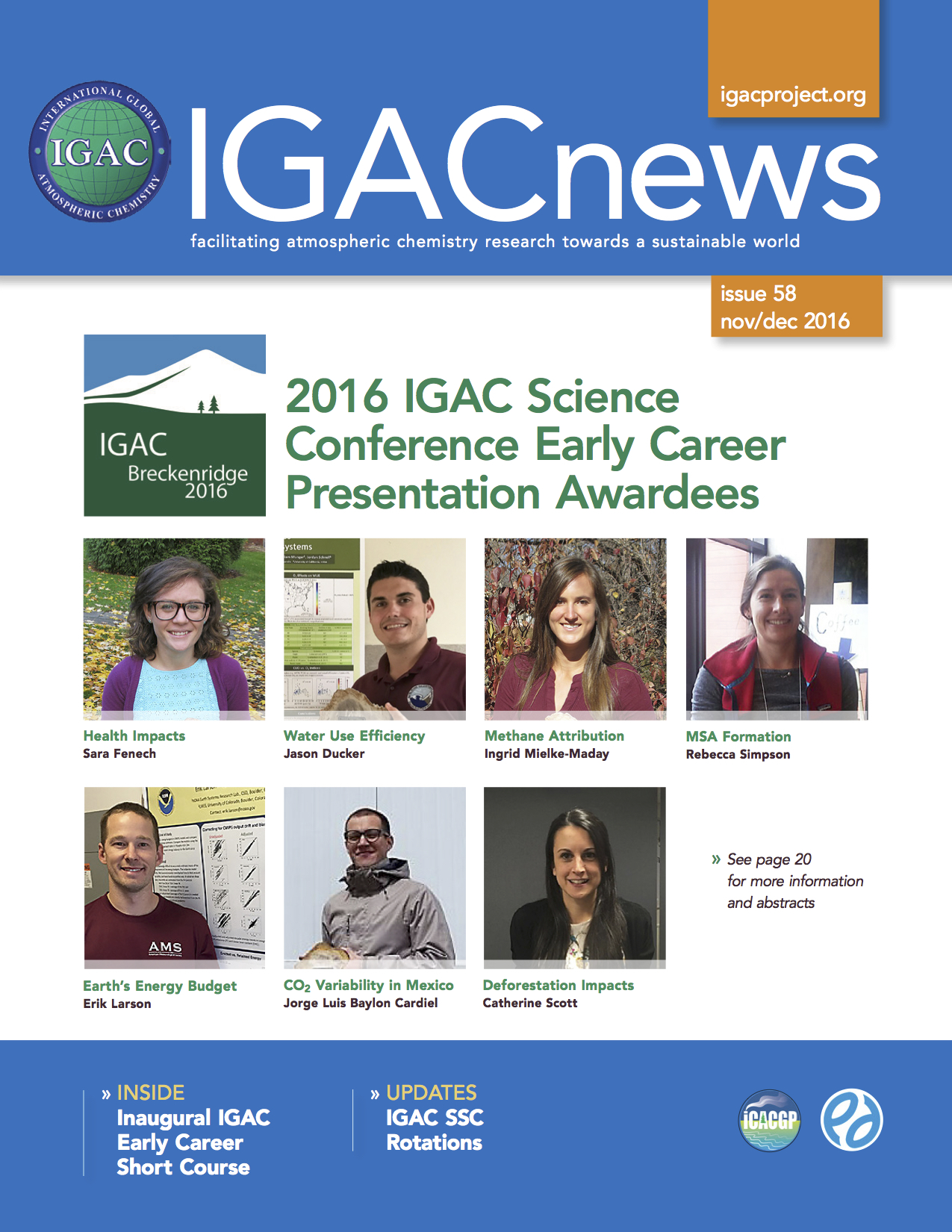 IGACnews Issue 58 Nov/Dec 2016
