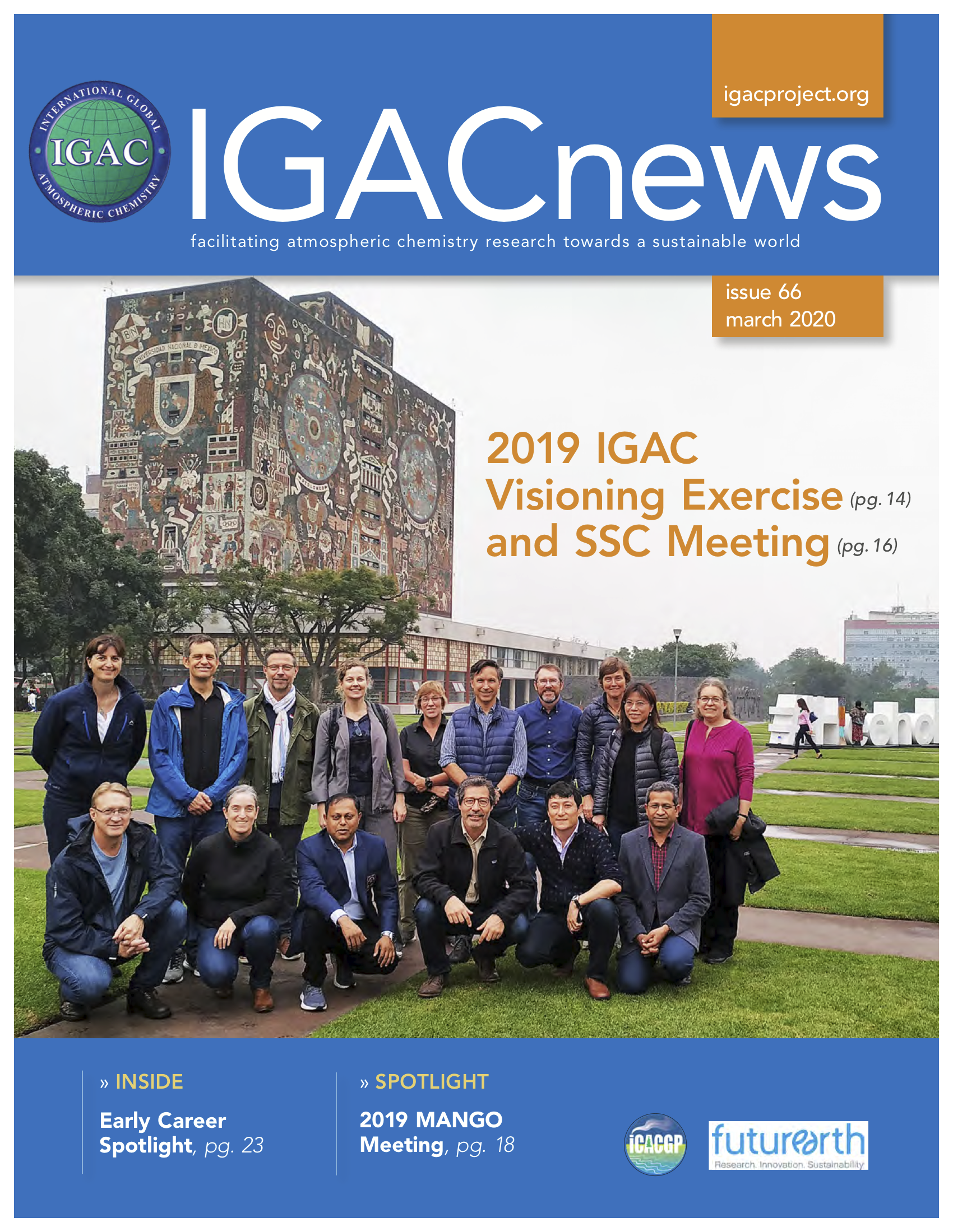 IGACnews Issue 66 Mar 2020 Cover Image